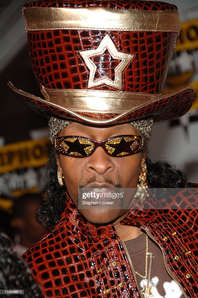 Bootsy Collins during 2006 VH1 Hip Hop Honors - Arrivals at Hammerstein Ballroom in New York City, New York, United States.