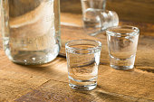 Boozy Alcoholic American Moonshine Shots Ready to Drink