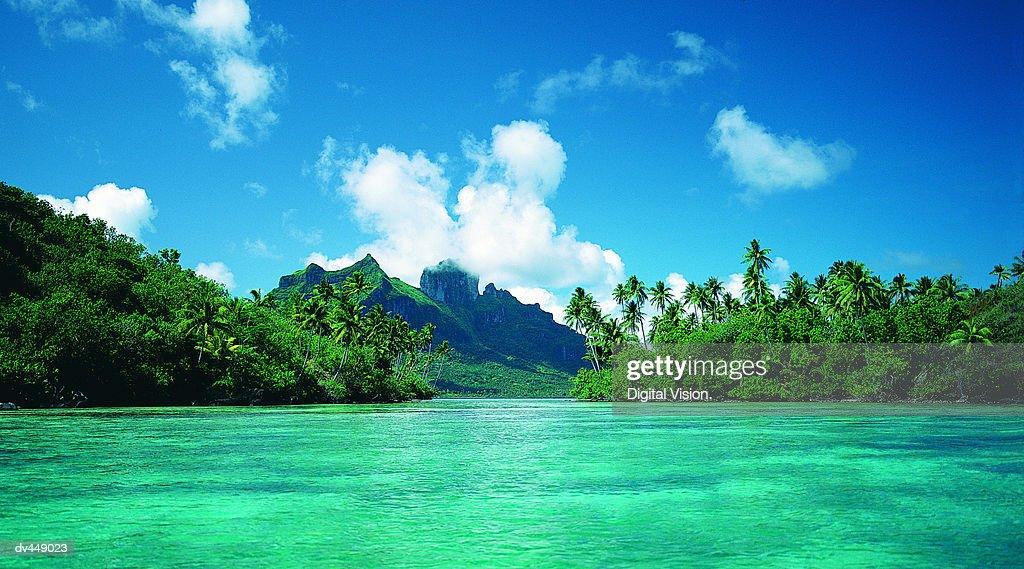 Bora Bora, French Polynesia : Stock Photo