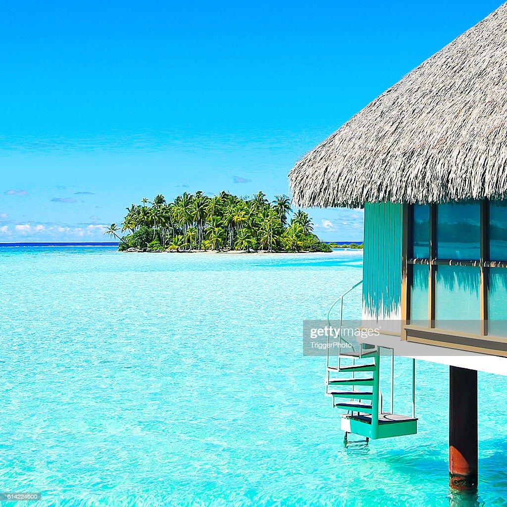 Bora Bora Tahiti Island Life : Stock Photo