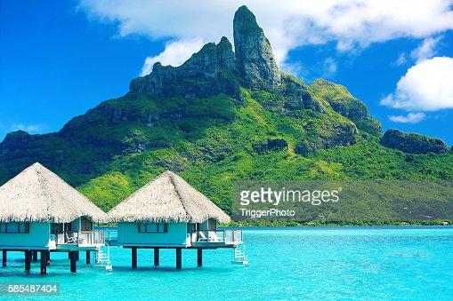Bora Bora Tahiti Mt Otemanu