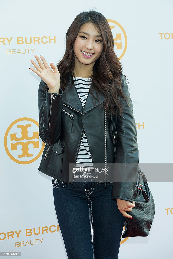 Bora of South Korean girl group SISTAR attends 'Tory Burch' Eau De Parfum Launching Party at Tory Burch Flagship Store on February 26, 2014 in Seoul, South Korea.