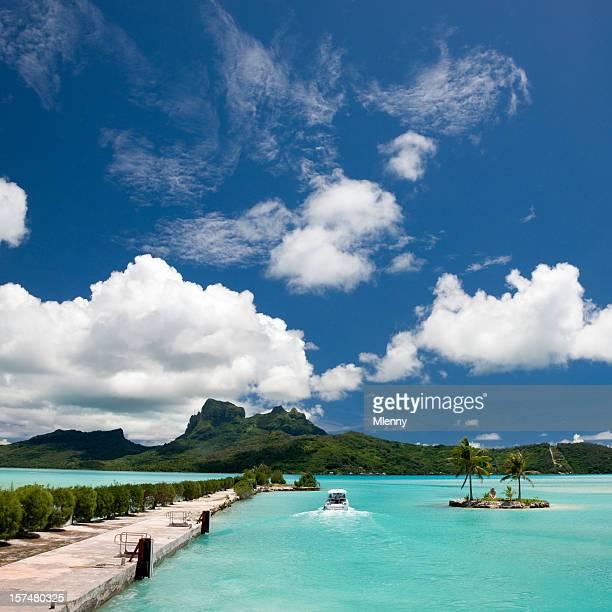 Bora-Bora Paradise Airport Arrival