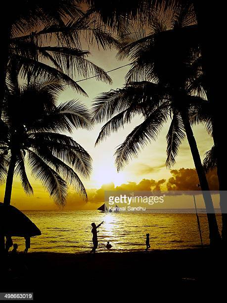 Boracay White Beach Sunset