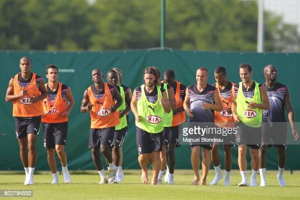 Bordeaux / Fernando CAVENAGHI Reprise de l'entrainement Bordeaux Le Haillan Bordeaux