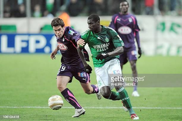 Bordeaux French Midfielder Pierre Ducasse Vies With Saint Etienne Picture Fbl Fra Lyon Rennes Champions