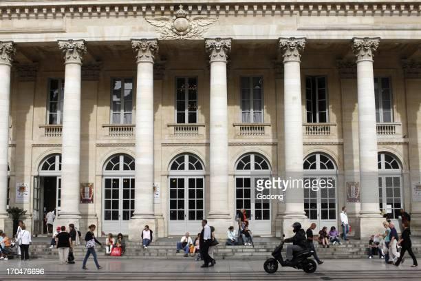 Bordeaux Grand theater Bordeaux France