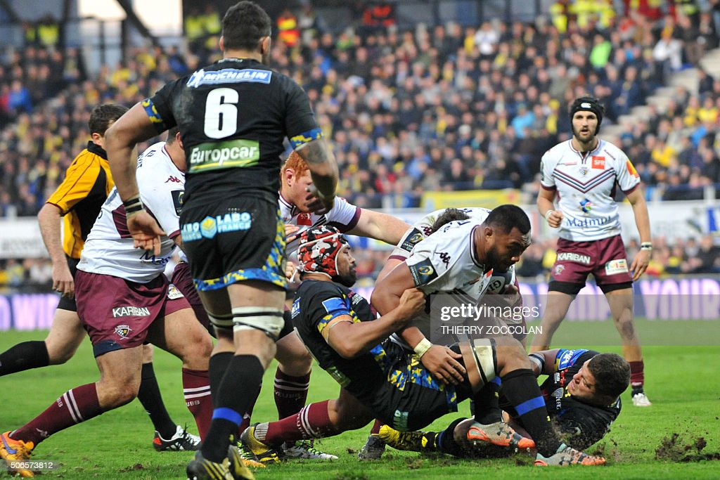 asm clermont auvergne v bordeaux begles european rugby champions cup getty images. Black Bedroom Furniture Sets. Home Design Ideas