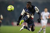 Bordeaux's Senegalese forward Henri Saivet controls the ball during the French L1 football match between Girondins de Bordeaux and Lyon on December...