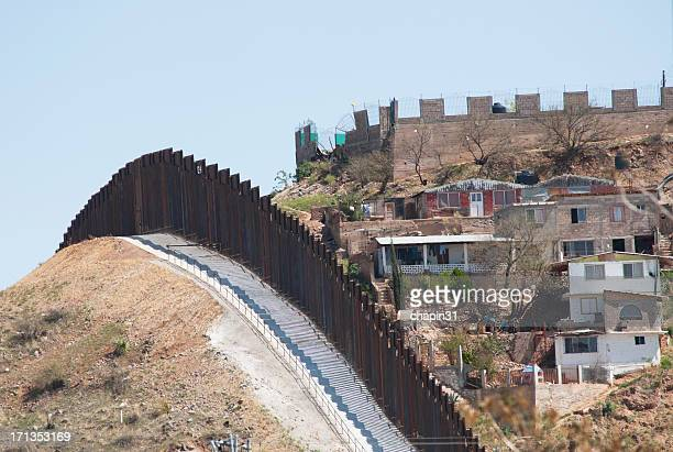 Border Fence in Nogales, Mexico