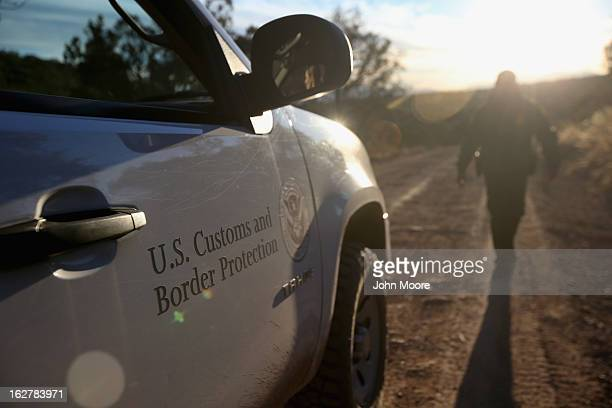 S Border Patrol patrol searches for undocumented immigrants and drug smugglers on February 26 2013 near Sonoita Arizona The Federal government has...