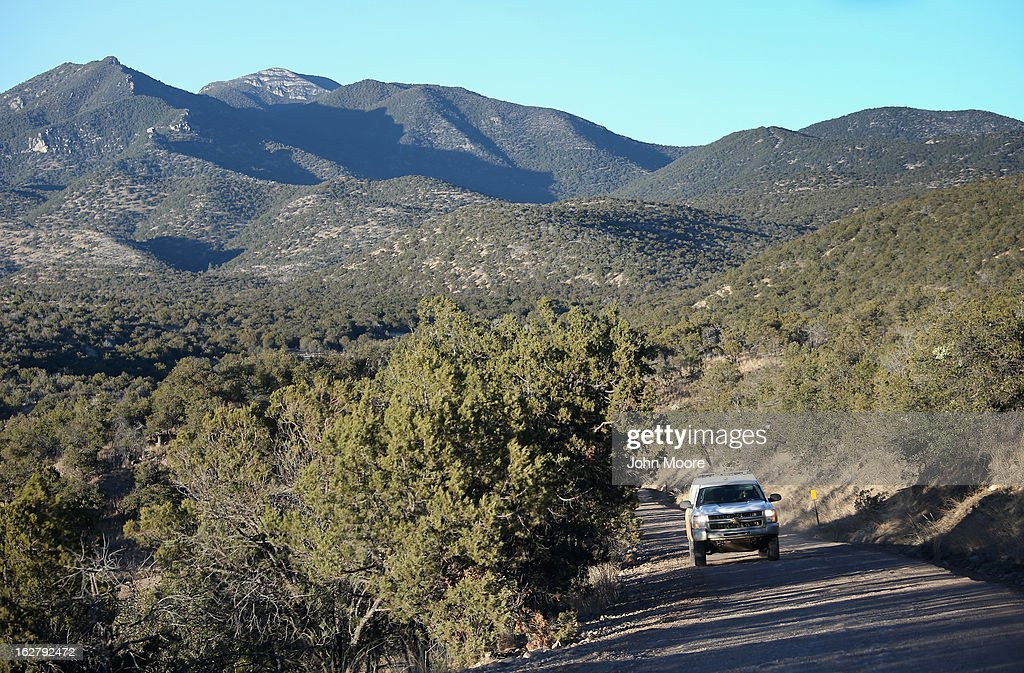 S. Border Patrol patrol searches for undocumented immigrants and drug smugglers on February 26, 2013 near Sonoita, Arizona. The Federal government has increased the Border Patrol presence in Arizona, from some 1,300 agents in the year 2000 ro 4,400 in 2012. The apprehension of undocumented immigrants crossing into the U.S. from Mexico has declined during that time from 600,016 in 2000 to 123,000 in 2012.