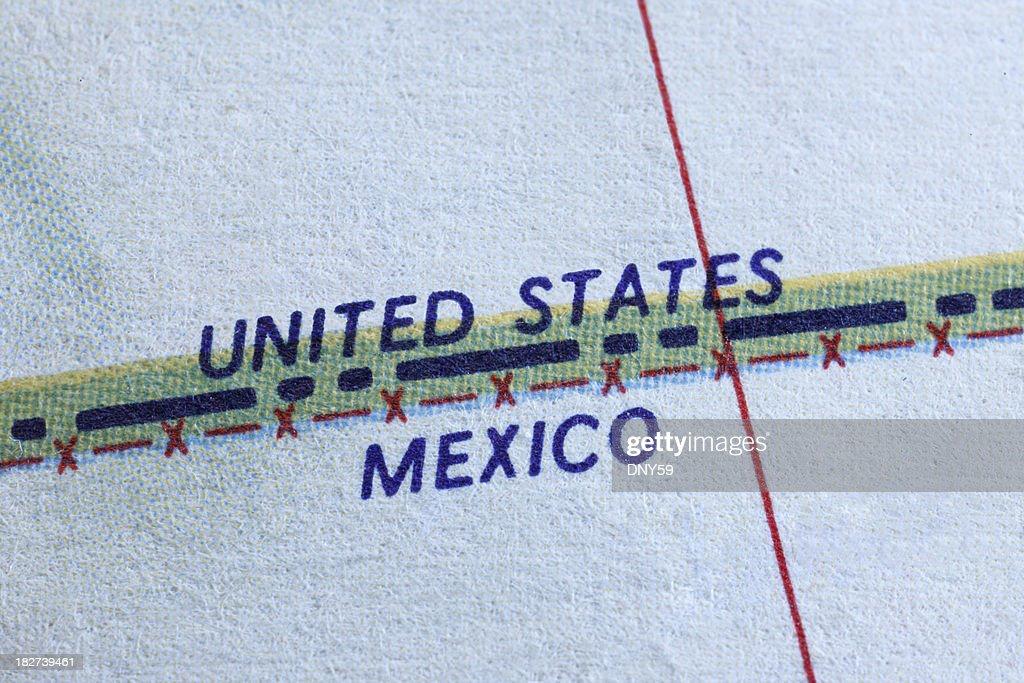国境 : ストックフォト