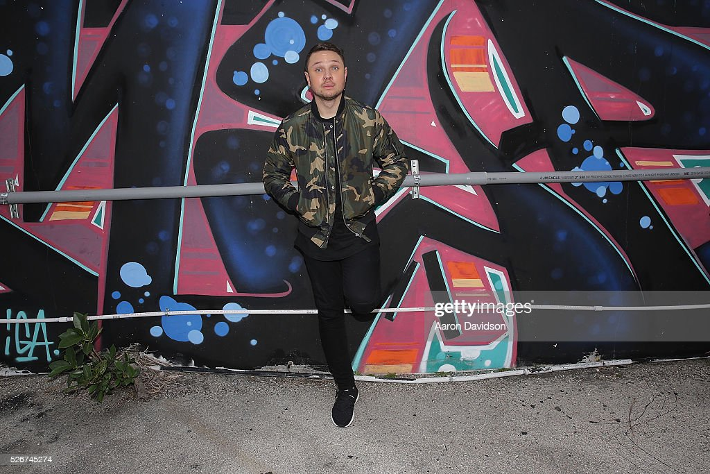 Borgeous and Sean Paul 'Ride It' video shoot on April 30, 2016 in Miami, Florida.
