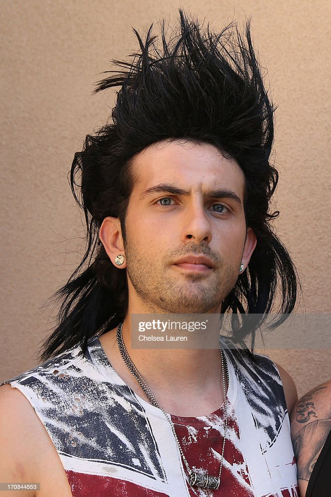 DJ Borgore attends his 'Legend' music video shoot on June 11, 2013 in Toluca Lake, California.