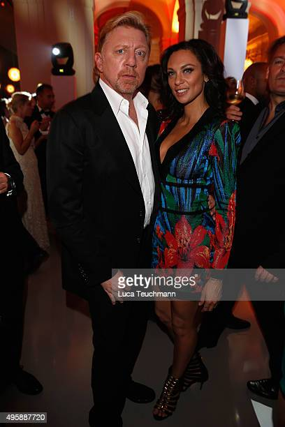Boris Becker and Lilly Becker attend the after show party at the GQ Men of the year Award 2015 show at Komische Oper on November 5 2015 in Berlin...