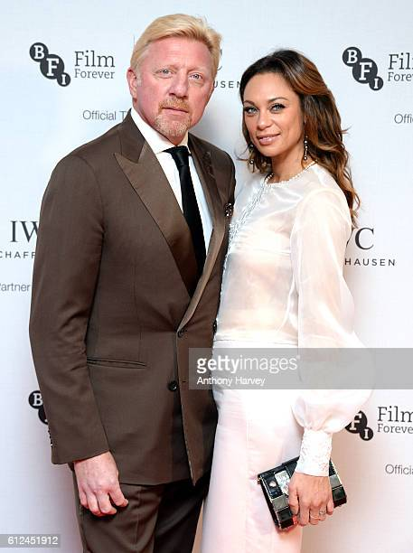 Boris Becker and Lilly Becker attend the IWC Gala in honour of The British Film Institute at Rosewood Hotel on October 4 2016 in London England