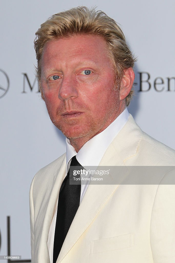 Boris Becker arrives at amfAR's Cinema Against AIDS at Hotel Du Cap on May 24, 2012 in Antibes, France.