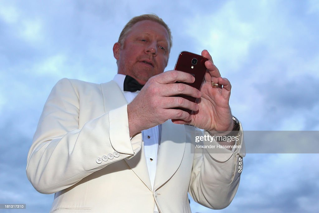 <a gi-track='captionPersonalityLinkClicked' href=/galleries/search?phrase=Boris+Becker&family=editorial&specificpeople=67204 ng-click='$event.stopPropagation()'>Boris Becker</a> arrives at the red carpet prior the Laureus Sport for Good Night 2013 at Munich Olympiahalle on September 20, 2013 in Munich, Germany.