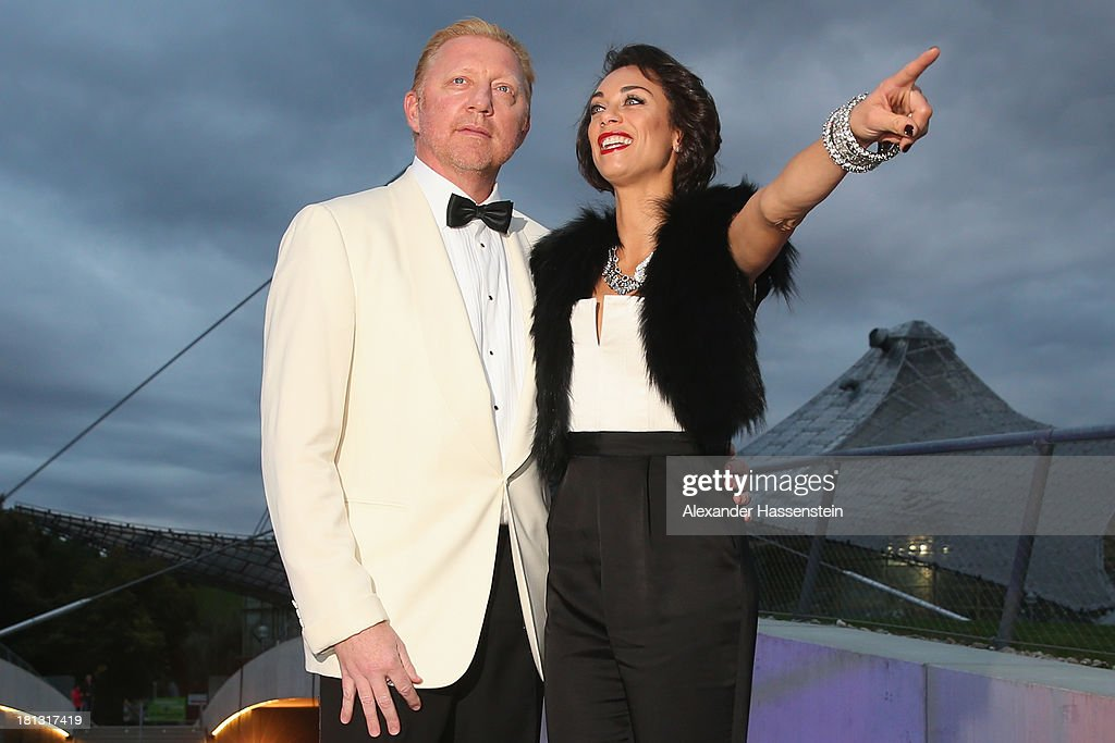 <a gi-track='captionPersonalityLinkClicked' href=/galleries/search?phrase=Boris+Becker&family=editorial&specificpeople=67204 ng-click='$event.stopPropagation()'>Boris Becker</a> arrives with Sharley 'Lilly' Becker for the Laureus Sport for Good Night 2013 at Munich Olympiahalle on September 20, 2013 in Munich, Germany.