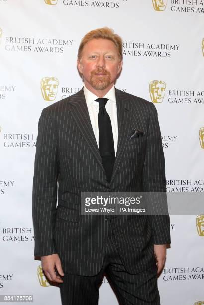 Boris Becker attending the British Academy Video Games Awards at the London Hilton Park Lane London