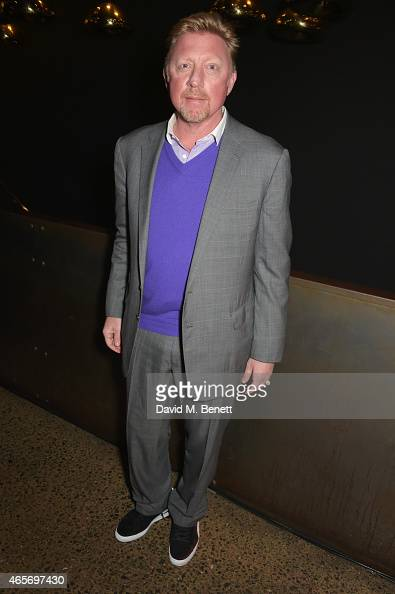Boris Becker attends a party hosted by Instagram's Kevin Systrom and Jamie Oliver This is their second annual private party taking place at Barbecoa...