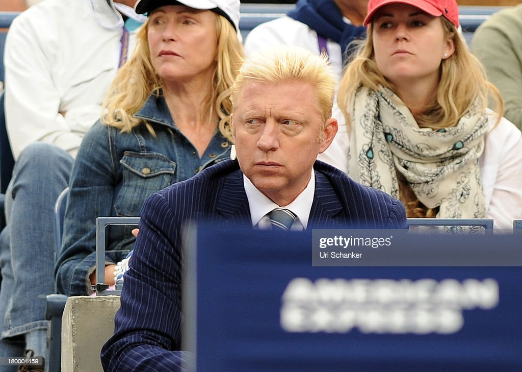 <a gi-track='captionPersonalityLinkClicked' href=/galleries/search?phrase=Boris+Becker&family=editorial&specificpeople=67204 ng-click='$event.stopPropagation()'>Boris Becker</a> attends the 2013 US Open at USTA Billie Jean King National Tennis Center on September 7, 2013 in New York City.