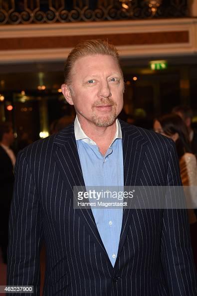 Boris Becker attends the 'Best Brands 2015 Gala Award' at Hotel Bayerischer Hof on February 11 2015 in Munich Germany