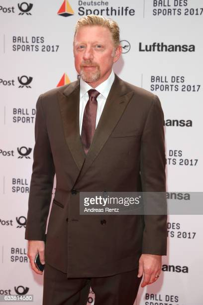 Boris Becker attends the German Sports Gala 'Ball des Sports 2017' on February 4 2017 in Wiesbaden Germany