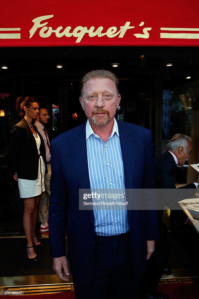 <a gi-track='captionPersonalityLinkClicked' href=/galleries/search?phrase=Boris+Becker&family=editorial&specificpeople=67204 ng-click='$event.stopPropagation()'>Boris Becker</a> attends the Trophee des Legendes Dinner at Le Fouquet's, champs Elysees on June 3, 2015 in Paris, France.