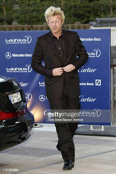 Boris Becker during 2003 Laureus World Sports Awards Arrivals at Grimaldi Forum in Monte Carlo Monaco