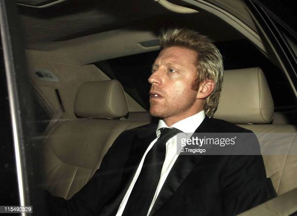 Boris Becker during Sir Elton John and David Furnish's Civil Partnership Ceremony Reception Arrivals at Windsor Guildhall in Windsor Great Britain