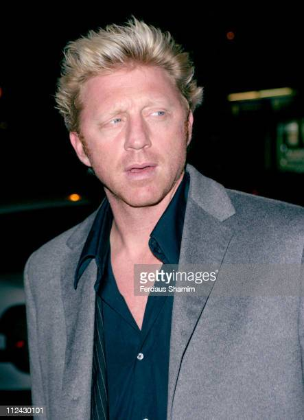 Boris Becker during MS Society 2005 Halloween Party at The Collection in London Great Britain