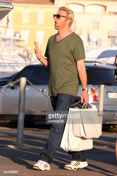 Boris Becker is seen on July 30 2009 in St Tropez France