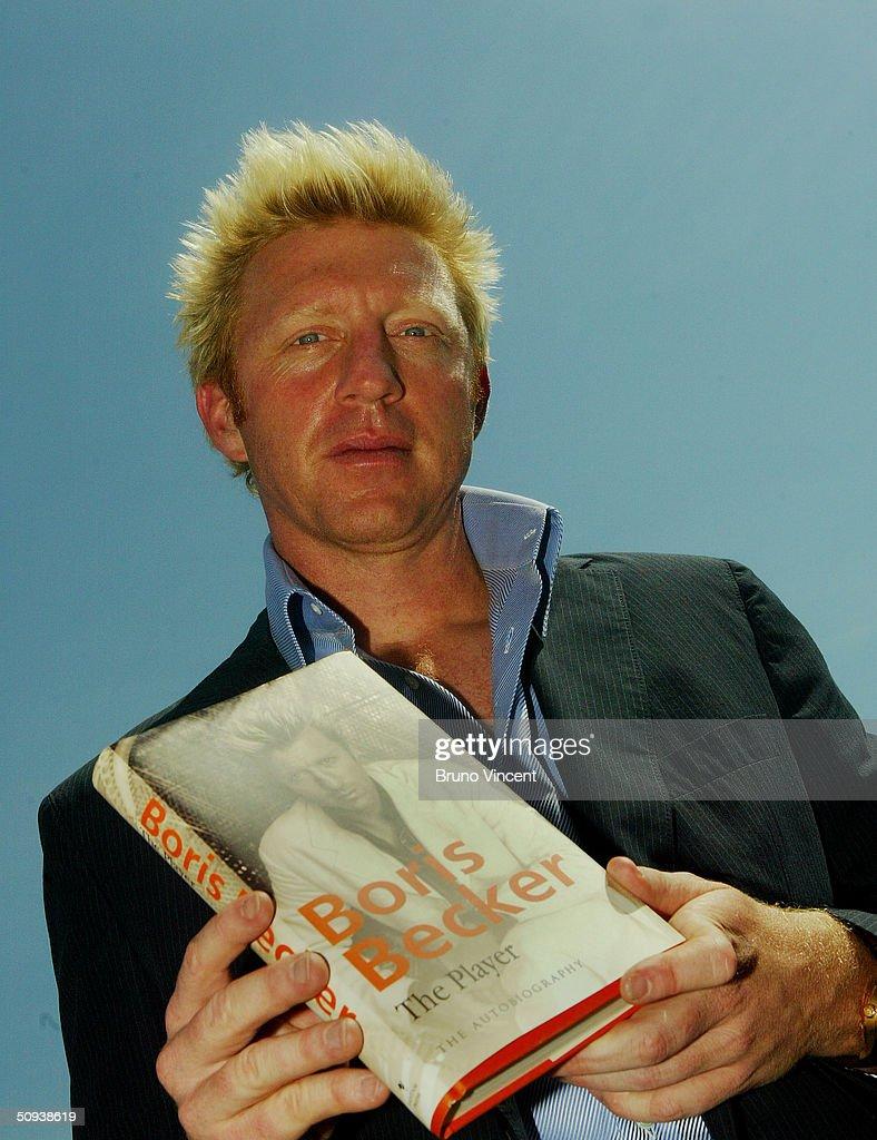 Boris Becker Book Launch s and