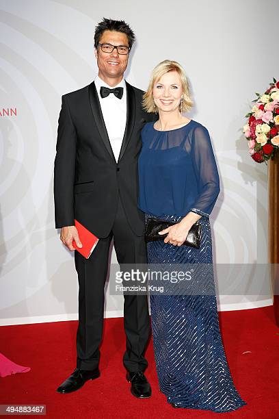 Boris Buettner and Ilka Essmueller attend the Rosenball 2014 on May 31 2014 in Berlin Germany