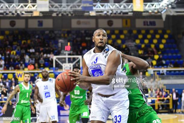 Boris Diaw of Levallois during the EuropCup match between Levallois Metropolitans and Darussafaka Istanbul at Salle Marcel Cerdan on October 11 2017...