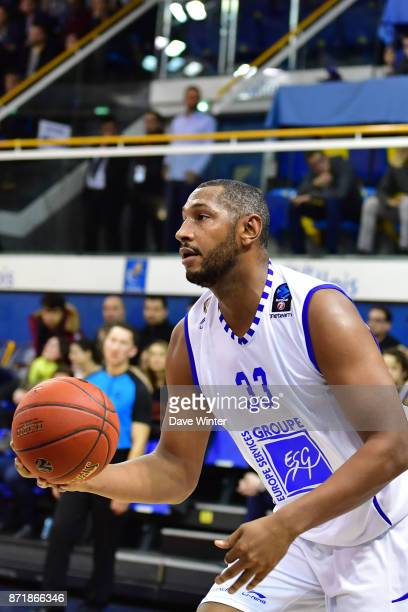 Boris Diaw of Levallois during the EuropCup match between Levallois Metropolitans and Cedevita Zagreb at Salle Marcel Cerdan on November 8 2017 in...