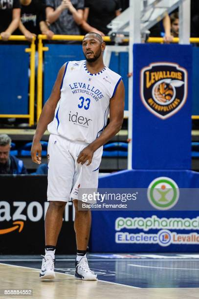 Boris Diaw of Levallois during the Pro A match between Levallois and Limoges on October 7 2017 in LevalloisPerret France