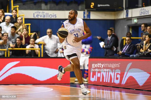 Boris Diaw of Levallois during the Pro A match between Levallois Metropolitans and Boulazac at Salle Marcel Cerdan on October 21 2017 in Paris France