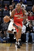Boris Diaw of the Charlotte Bobcats moves the ball up court during the game against the Memphis Grizzlies at the FedExForum on December 19 2008 in...