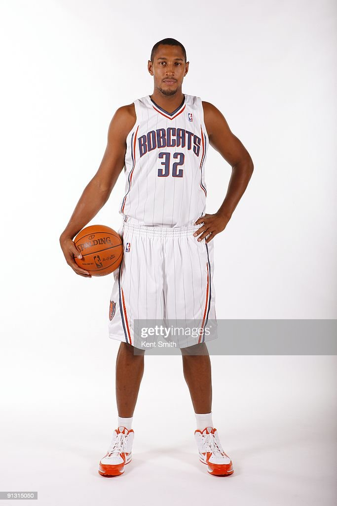 Boris Diaw #32 of the Charlotte Bobcats poses for a portrait during 2009 NBA Media Day at Time Warner Cable Arena on September 28, 2009 in Charlotte, North Carolina.