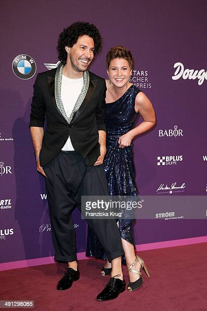 Boris Entrup and Vanessa Blumhagen attend the Babor At Duftstars Awards 2014 at Arena Berlin on May 15 2014 in Berlin Germany