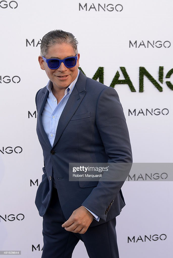 Boris Izaguirre attends a photocall for 'Mango' at 080 Barcelona Fashion Week on June 30, 2014 in Barcelona, Spain.