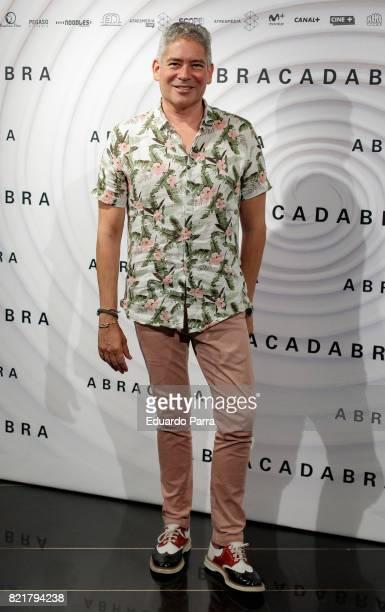 Boris Izaguirre attends the 'Abracadabra' premiere at Palacio de la Prensa cinema on July 24 2017 in Madrid Spain