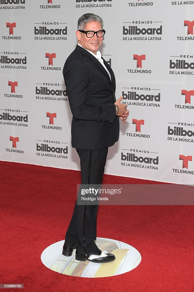 Boris Izaguirre attends the Billboard Latin Music Awards at Bank United Center on April 28, 2016 in Miami, Florida.