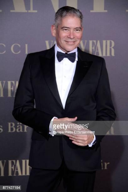 Boris Izaguirre attends the gala 'Vanity Fair Personality of the Year' to Garbine Muguruza at Ritz Hotel on November 21 2017 in Madrid Spain