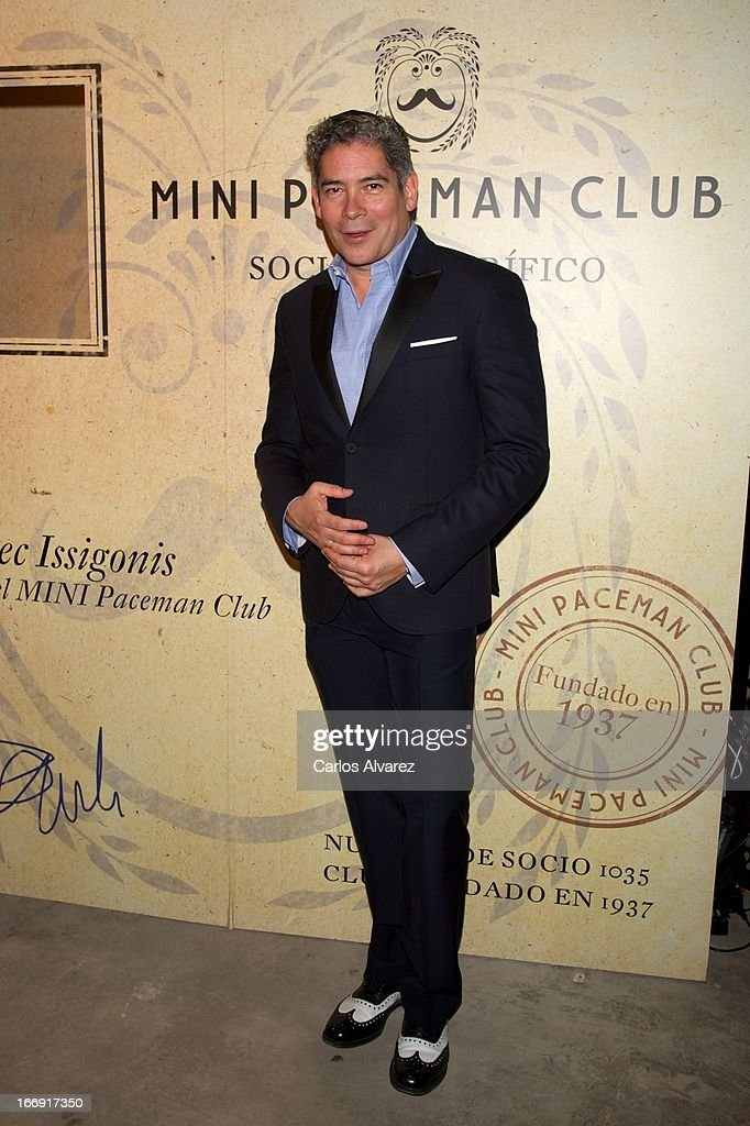 Boris Izaguirre attends the new 'Mini Paceman' presentation party at the Museo del Ferrocarril on April 18, 2013 in Madrid, Spain.