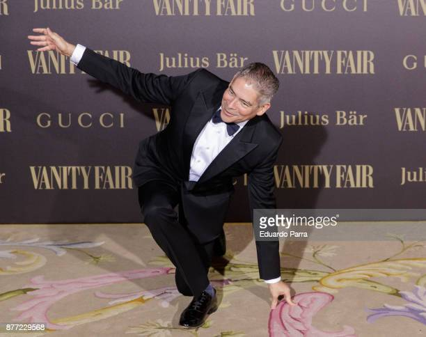 Boris Izaguirre attends the 'Vanity Fair Personality of the year' photocall at Ritz hotel on November 21 2017 in Madrid Spain
