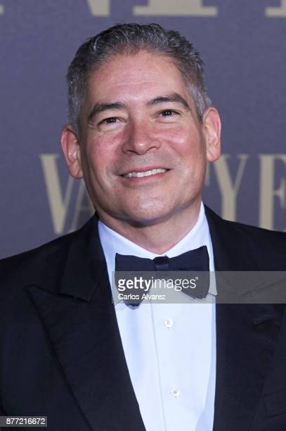 Boris Izaguirre attends the Vanity Fair Personality of the Year party at the Ritz Hotel on November 21 2017 in Madrid Spain